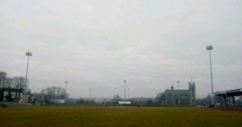 Buski stadion ma już nowe oświetlenie