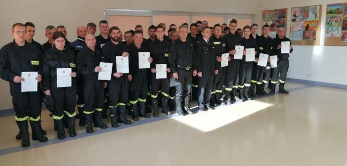 Strażacy na szkoleniu. Jak im poszło?