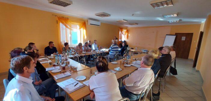 Spotkanie z przedstawicielami Świętokrzyskiego Ośrodka Wsparcia Ekonomii Społecznej